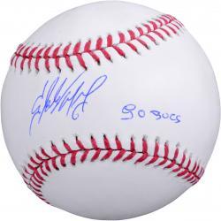 "Starling Marte Pirates Autographed Baseball ""Go Pirates"""