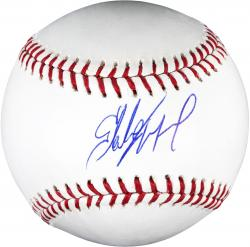 Starling Marte Pittsburgh Pirates Autographed Baseball
