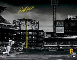 Starling Marte Pittsburgh Pirates Autographed 11'' x 14'' Spotlight Photograph