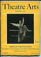 Martha Graham Ballet Fred Astaire Isadora Duncan Theatre Arts Monthly Magazine