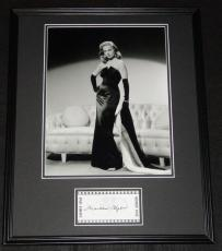 Martha Hyer Signed Framed 16x20 Photo Poster Display