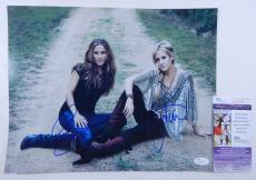 Martie Maguire/Emily Robison Signed 11 x 14 Photo Dixie Chicks 2 JSA Auto