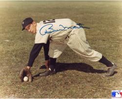 "Billy Martin New York Yankees Autographed 8"" x 10"" Fielding Ball Photograph"