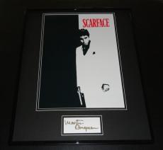 Martin Bregman Signed Framed 16x20 Photo Display Scarface