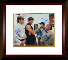 Martin Kove signed The Karate Kid 16X20 Photo Custom Framed Sensei Kreese w/ Macchio & Zabka (entertainment/movie memorabilia)
