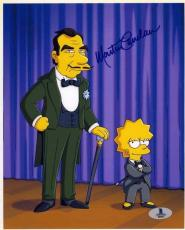 Martin Landau Simpsons Autographed Signed 8x10 Photo Beckett BAS COA