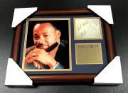 MARTIN LUTHER KING JR #1 Autographed Cut Signature Facsimile Framed 8x10 Photo