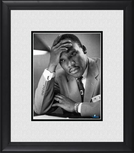 """Martin Luther King Jr. Framed 8"""" x 10"""" Thinking Photograph"""