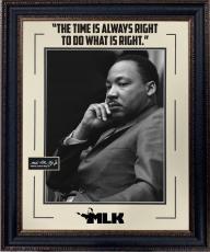 "Martin Luther King Jr. Framed ""I Have A Dream"" Photo"