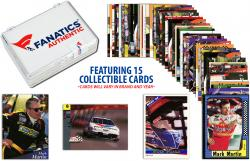 Mark Martin Collectible Lot of 15 NASCAR Trading Cards - Mounted Memories