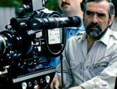 "Martin Scorsese Autographed 11"" x 14"" Looking into Film Camera Photograph - PSA/DNA COA"