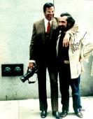 """Martin Scorsese Autographed 11"""" x 14"""" The King Of Comedy With Jerry Lewis  Photograph - BAS COA"""