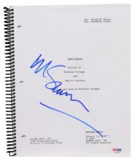 Martin Scorsese Autographed Goodfellas Replica Movie Script - PSA/DNA COA