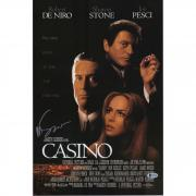 "Martin Scorsese Casino Autographed 12"" x 18"" Movie Poster - BAS"