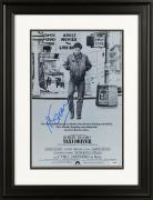 "Martin Scorsese Framed Autographed 11"" x 17"" Taxi Driver Movie Poster in Black & White- PSA/DNA COA"