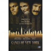"""Martin Scorsese Gangs of New York Autographed 12"""" x 18"""" Movie Poster - BAS"""