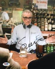 Martin Scorsese Goodfellas Signed 8X10 Photo PSA/DNA #T78200