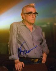 Martin Scorsese Great Autographed Signed 8x10 Photo Certified Authentic PSA/DNA