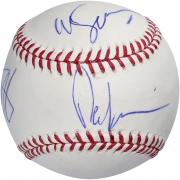 Martin Scorsese, Ray Liota & Paul Sorvino Autographed Official Major League Baseball - BAS