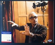 Martin Scorsese Signed 11x14 Photo Autograph Psa Dna Coa Hugo Shutter Island