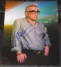 Martin Scorsese Signed 11x14 Photo Autograph The Departed Authentic Coa A