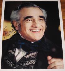Martin Scorsese Signed 11x14 Photo Autograph The Departed Director De Niro Coa