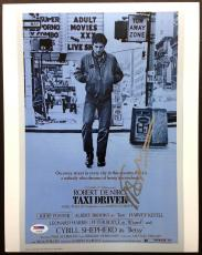 Martin Scorsese Signed 11x14 Photo Psa Dna Coa Autograph Taxi Driver