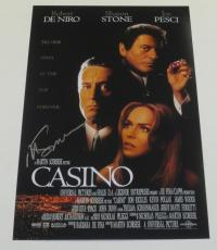 Martin Scorsese Signed 12x18 Photo Casino Movie Poster Autograph Proof Pic Coa