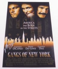 Martin Scorsese Signed 12x18 Photo Gangs Of New York Movie Poster Autograph Coa