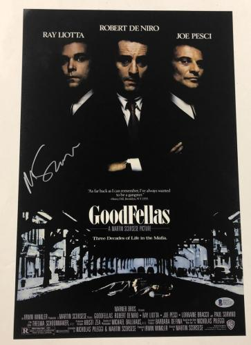 Martin Scorsese Signed 12x18 Photo Goodfellas Authentic Autograph Beckett Coa