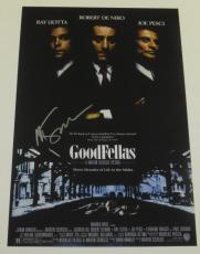 Martin Scorsese Signed 12x18 Photo Goodfellas Movie Poster Autograph Proof Coa