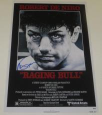 Martin Scorsese Signed 12x18 Photo Raging Bull Movie Poster Autograph Proof Coa