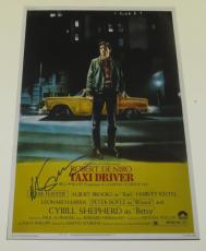 Martin Scorsese Signed 12x18 Photo Taxi Driver Movie Poster Autograph Proof Coa