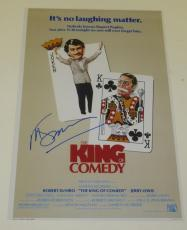 Martin Scorsese Signed 12x18 Photo The King Of Comedy Movie Poster Autograph Coa