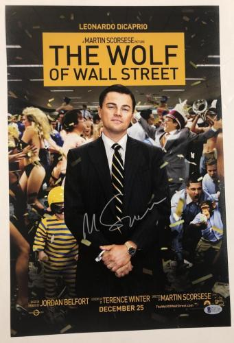 Martin Scorsese Signed 12x18 Photo The Wolf Of Wall Street Autograph Beckett Coa