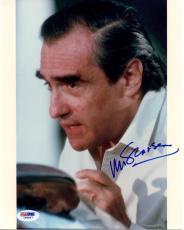 Martin Scorsese Signed 8X10 Photo Autographed PSA/DNA #I85847