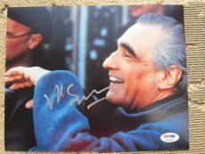 Martin Scorsese signed 8x10 photo PSA/DNA autograph