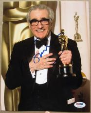 Martin Scorsese signed 8x10 photo PSA/DNA autograph