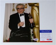 Martin Scorsese Signed Academy Award The Oscars 8x10 Photo Psa Coa K38344