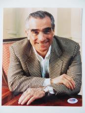 Martin Scorsese Signed Authentic Autographed 8x10 Photo (PSA/DNA) #I72392