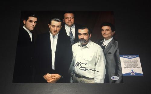 Martin Scorsese Signed Auto Goodfellas 11x14 Photo Bas Beckett Coa 14