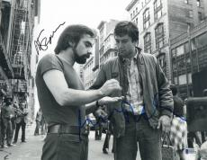 Martin Scorsese Robert Deniro Signed Auto Taxi Driver 11x14 Photo Bas Beckett 5