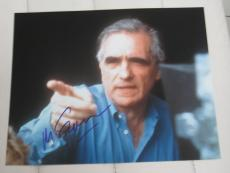 MARTIN SCORSESE SIGNED AUTOGRAPH 8x10 OSCARS DEPARTED B