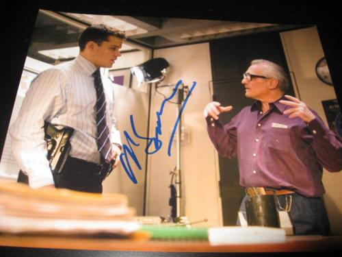 MARTIN SCORSESE SIGNED AUTOGRAPH 8x10 PHOTO THE DEPARTED PROMO IN PERSON COA NY