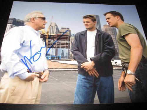 MARTIN SCORSESE SIGNED AUTOGRAPH 8x10 PHOTO THE DEPARTED PROMO IN PERSON COA X7