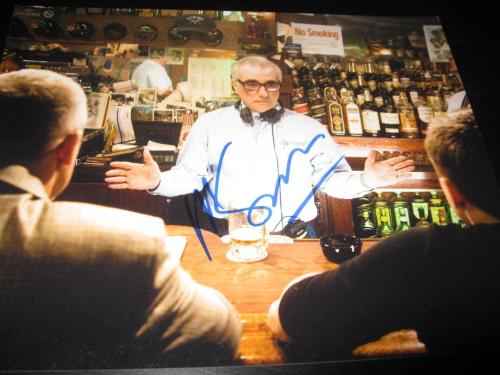 MARTIN SCORSESE SIGNED AUTOGRAPH 8x10 PHOTO THE DEPARTED PROMO IN PERSON COA X9