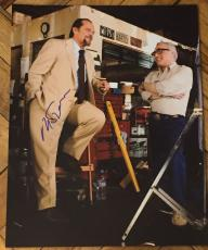 Martin Scorsese Signed Autograph Behind The Scenes Departed 11x14 Photo Coa