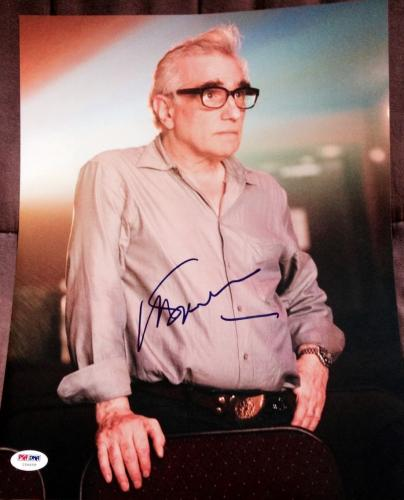 MARTIN SCORSESE SIGNED AUTOGRAPH CLASSIC DIRECTOR NEW 11x14 PHOTO PSA/DNA Z56658
