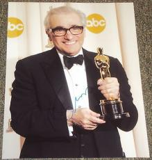 Martin Scorsese Signed Autograph Oscars Academy Award Trophy 11x14 Photo Coa