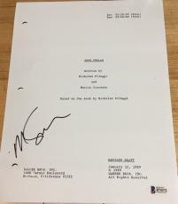 """Martin Scorsese Signed Autograph Rare """"goodfellas"""" Classic Movie Script Beckett"""
